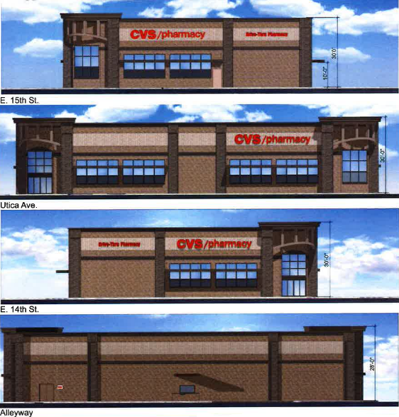 planning commission ok with cvs at 15th and utica