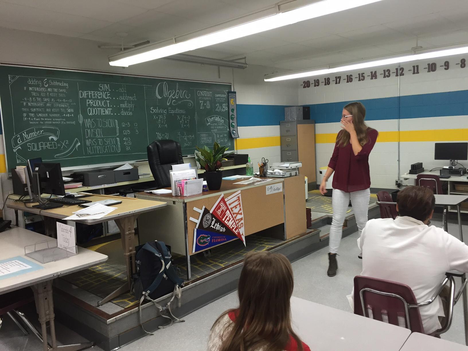 Jr High Classroom Decorating Ideas ~ East central junior high teacher gets revamped classroom