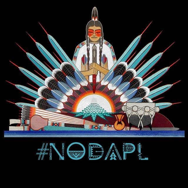 Tulsans march against North Dakota pipeline in 'We Stand As One' rally