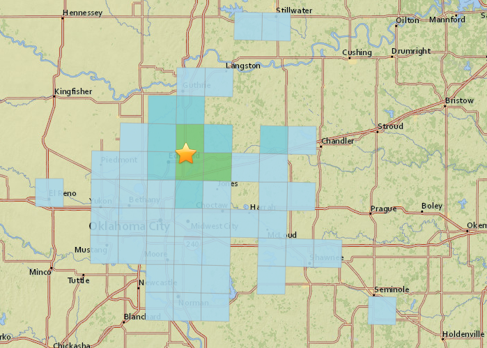 Magnitude 4.4 quake hits near Edmond, parts of city lose electricity