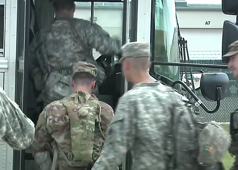 Members of Ind. National Guard deployed for Harvey relief