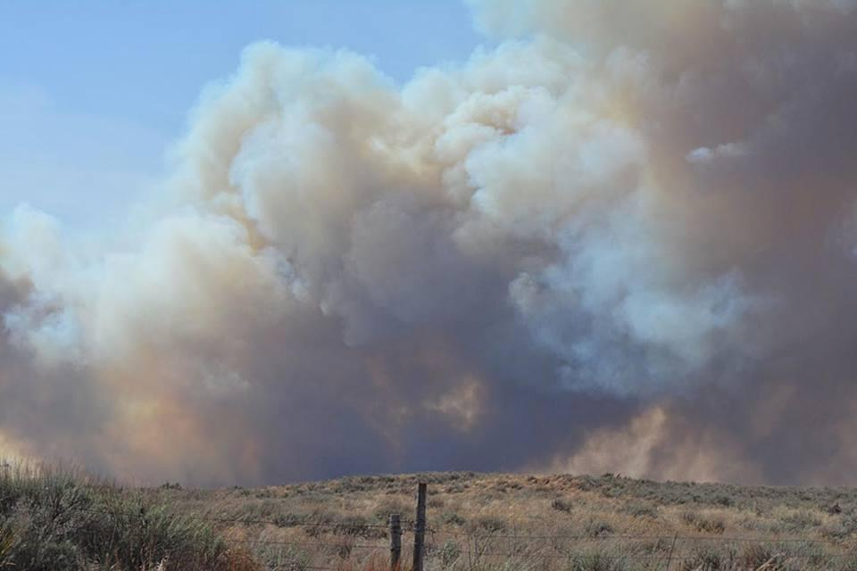 The fire near Woodward was estimated at 115,000 acres