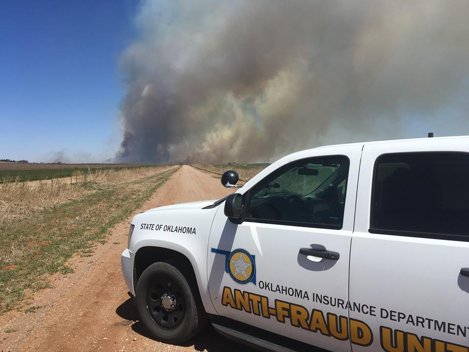 Wildfire evacuation order lifted for small Oklahoma town
