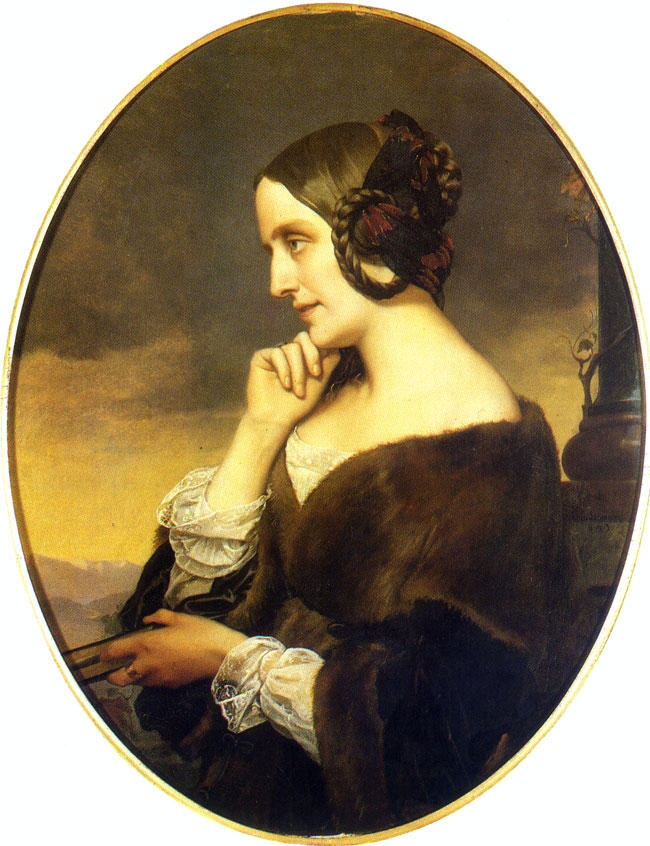 Portrait of Marie d'Agoult