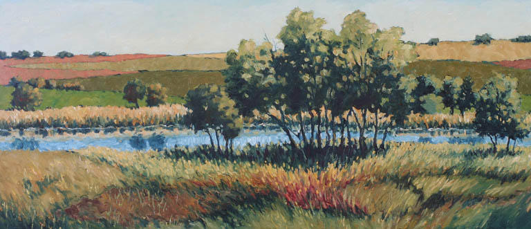 The Sioux City Art Center will Open an Exhibition of Dennis Dykema Oil Paintings