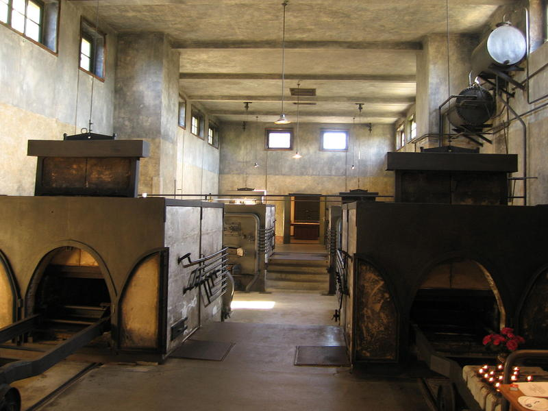 The Crematorium at Terezín concentration camp.