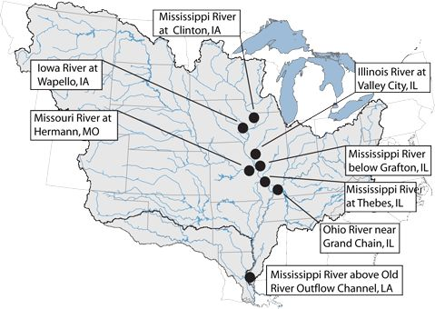 Nitrate Pollution In Mississippi River Basin Remains At 1980s Levels Despite Reduction Efforts St Louis Public Radio