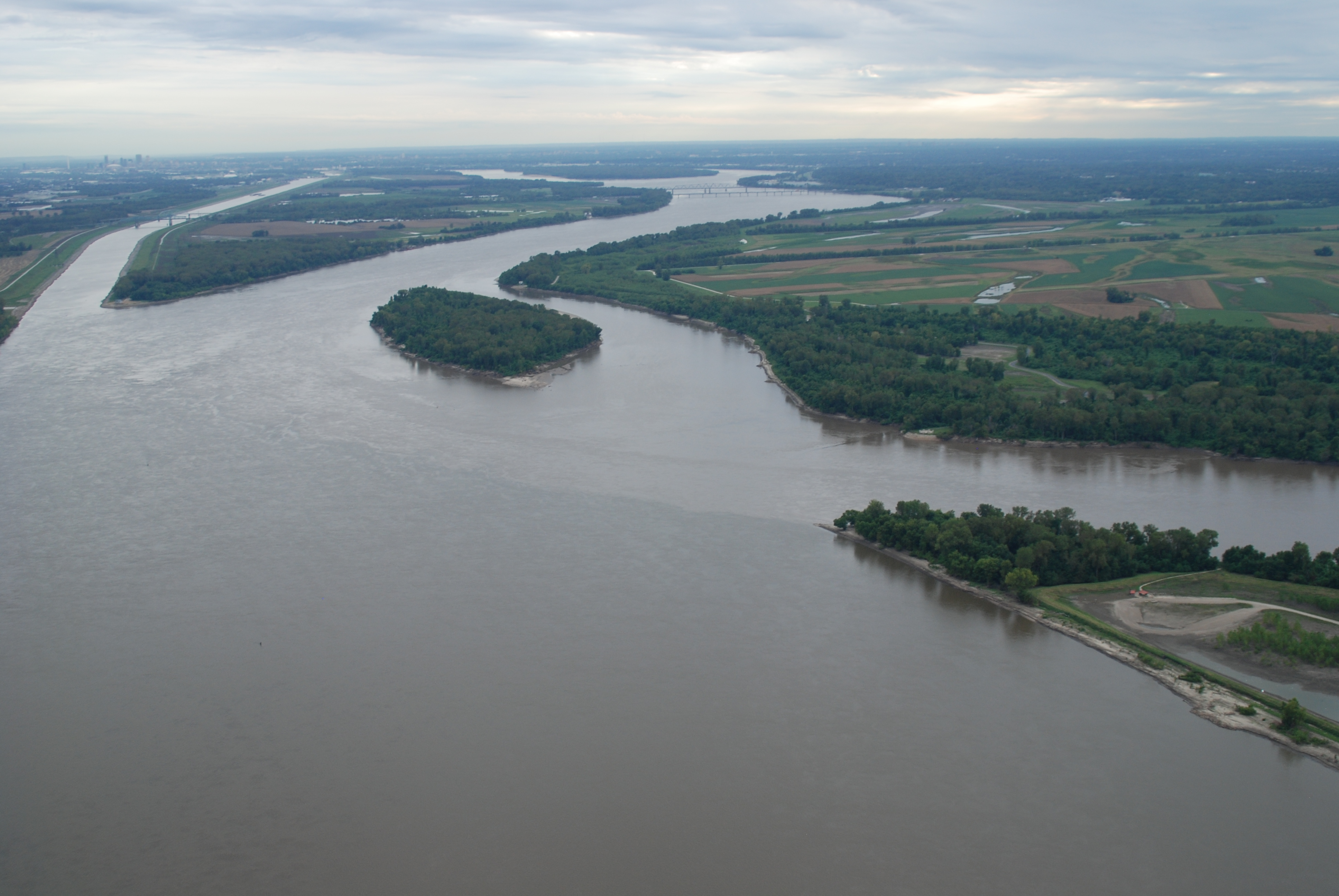 River Flood of 2011 Caused