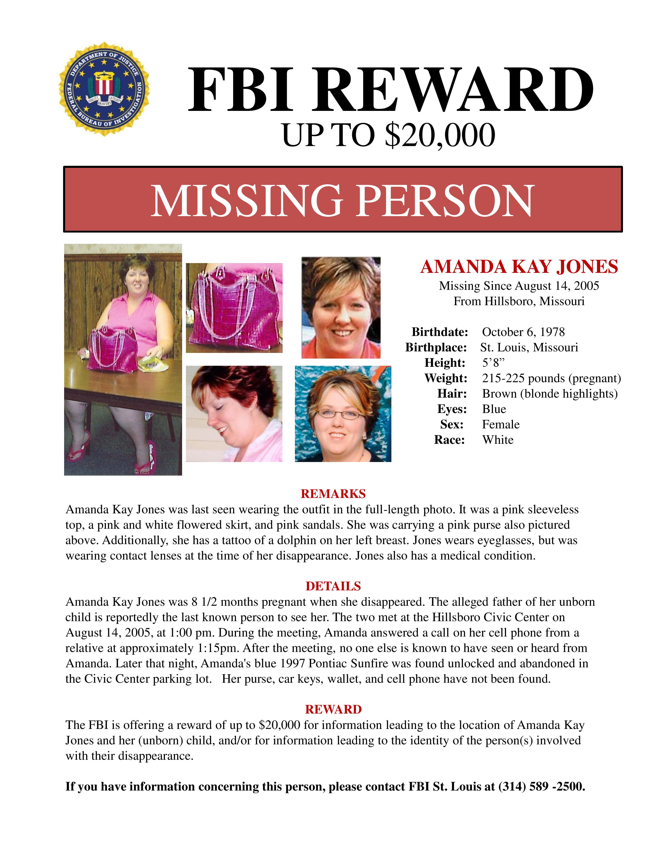 Investigators Offer Reward In Missing Mom Case | St. Louis Public Radio  Missing Persons Posters