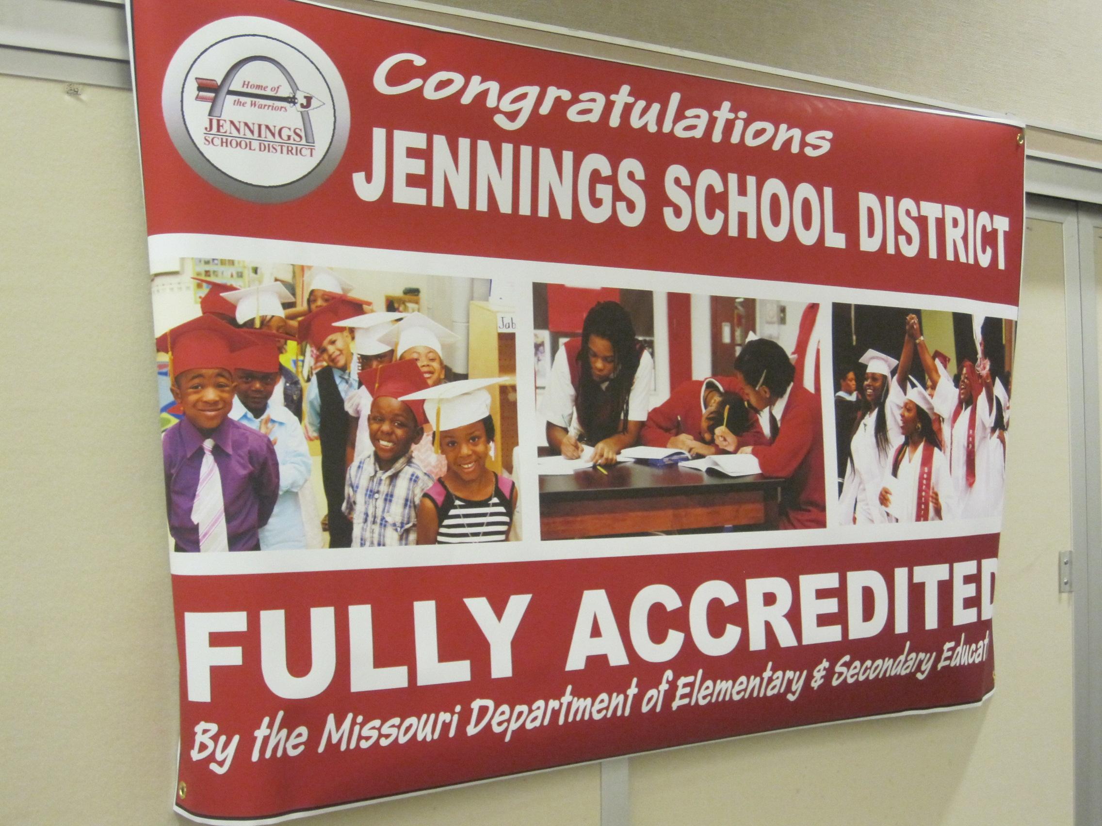 Jennings schools celebrate leap toward full accreditation - Riverview gardens school district jobs ...