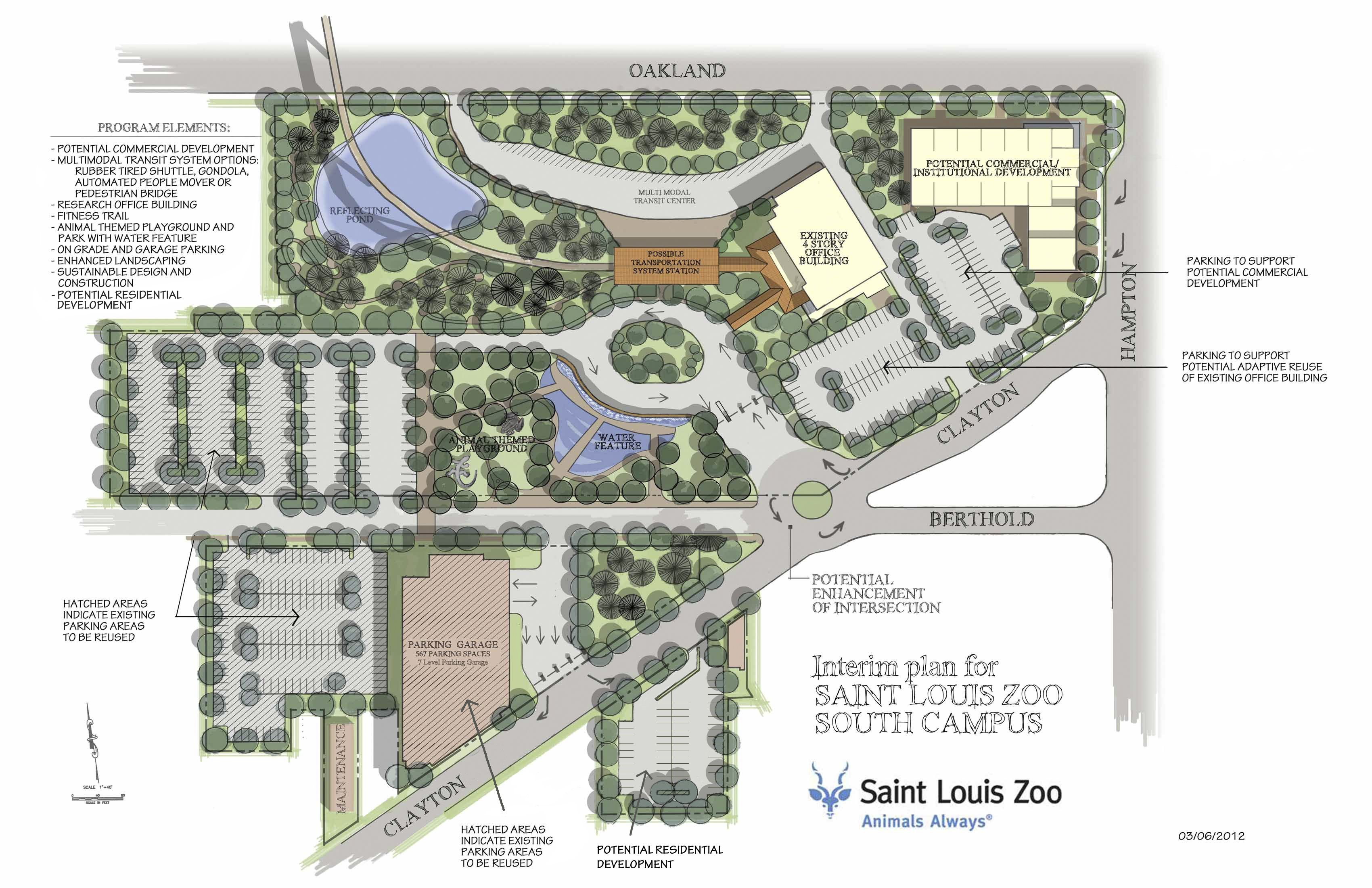 St Louis Zoo Kicks Off Planning Phase Of Forest Park
