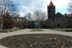 The campus of the University of Illinois' flagship institution.