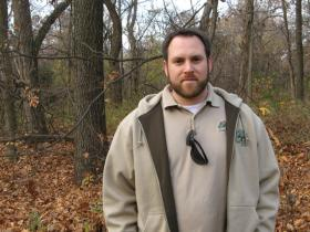 "Peter VanLinn is an ecologist with Forest Park Forever, a non-profit organization whose mission is to ""restore, maintain and sustain"" Forest Park."