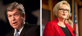 Sens. Roy Blunt and Claire McCaskill