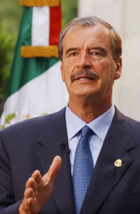 Former president of Mexico Vicente Fox will speak at Powell hall on March 12.