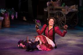 """Pamela Brumley in Stages St. Louis' production of """"My Fair Lady"""""""