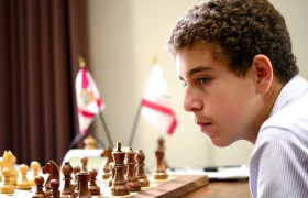 Daniel Naroditsky at World Youth Chess Championships