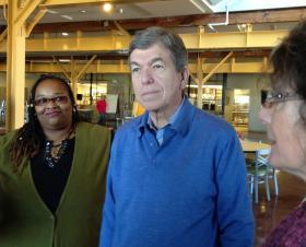 Senator Roy Blunt tours Independence Center