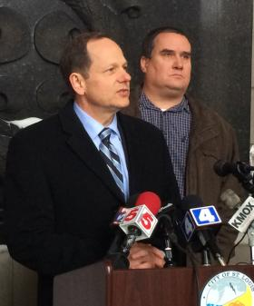 Mayor Francis Slay made the announcement after widespread criticism regarding the city's efforts to clear its streets after Sunday's snowstorm.