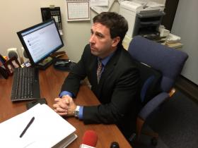 Councilman Steve Stenger, D-Affton, is challenging County Executive Charlie Dooley in this year's Democratic primary for county executive.
