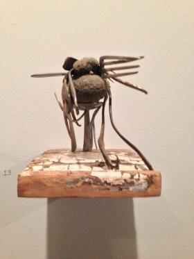 a bug made with forks