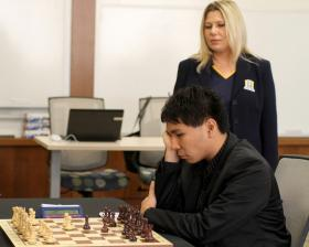 Wesley So and Susan Polgar
