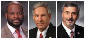 From left: Rep. Clem Smith, D-Velda Village Hills; Sen. Rob Schaaf, R-St. Joseph and Rep. Steve Cookson, R-Poplar Bluff