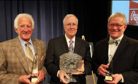 Bob Uecker, Rick Hummel and Robert Duffy were honored by the St. Louis Press Club on Jan. 21.