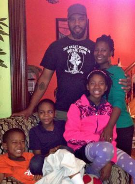 The Bayoc family: Borago, Ajani, Cbabi, Jurni, and Reine