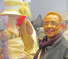Lois Conley volunteers her time as museum director.