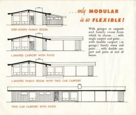 Some of the options in a Fournier house (from a promotional brochure of the time)