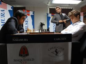 Hikaru Nakamura last battled Magnus Carlsen at the Sinquefield Cup in St. Louis. Levon Aronian observes.