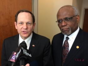 St. Louis Mayor Francis Slay joined Zimmerman in endorsing Dooley's re-election.