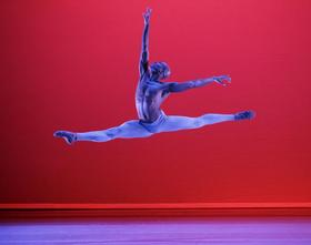 Antonio Douthit-Boyd in Ailey's The River.