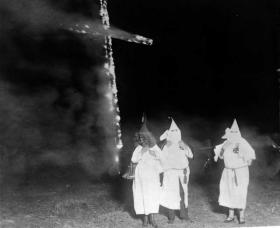 Frazier Glenn Cross once headed a North Carolina Klan organization.