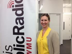 Julie Bierach is leaving St. Louis Public Radio to pursue a degree in nursing.