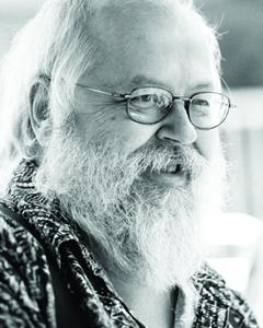 "Lee Sandlin, author of ""Storm Kings."""