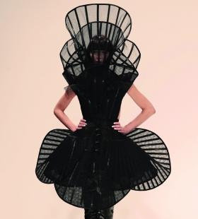 Pam Hogg, Black dress with collar