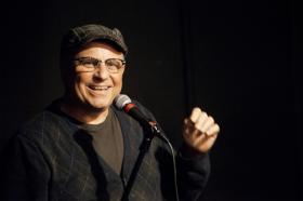 Comedian Bobcat Goldthwait