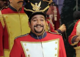 """Rene Barbera as Tonio in """"Daughter of the Regiment."""""""