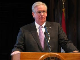 Gov. Jay Nixon announced his opposition Monday to a transportation sales tax. Nixon had hinted at his disapproval of the measure -- including linking to negative editorials on his Twitter account.