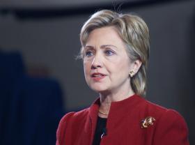 Hillary Clinton in 2007.
