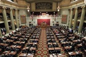 The chamber of the Missouri House. The legislative session ends at 6 p.m. today.