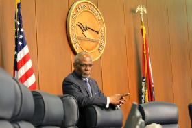 St. Louis County Executive Charlie Dooley is not enthused about Chesterfield's threat to succeed from St. Louis County.