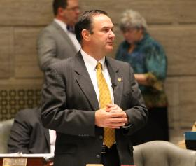 Sen. Mike Kehoe's proposal to raise the state's sales tax for transportation purposes is headed to the November ballot.