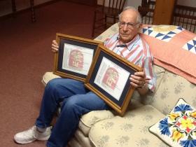 Richard Gibbler of Jefferson City is a veteran of D-Day.