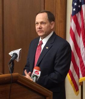 St. Louis Mayor Francis Slay said the city of St. Louis' transportation tax project list has a focus on non-roadway projects, including mass transit, bike and pedestrian infrastructure.