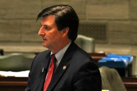 Sen. John Lamping, R-Ladue, has been a constant critic of the transportation tax. He's part of a unique ideological alliance with more left-of-center groups and politicians to oppose the measure.