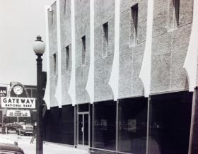 Gateway National Bank at 3412 Union Blvd., date unknown.