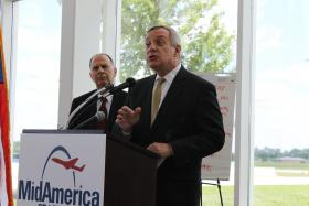 U.S. Sen. Dick Durbin, D-Illinois, is supporting a non-binding ballot initiative to raise the Land of Lincoln's minimum wage. He said the initiative may help move the issue forward in the Illinois General Assembly.